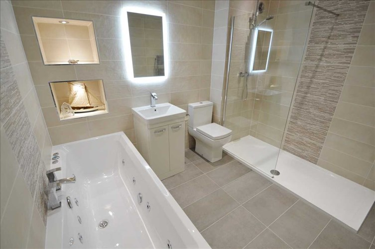 Bathroom in Extension